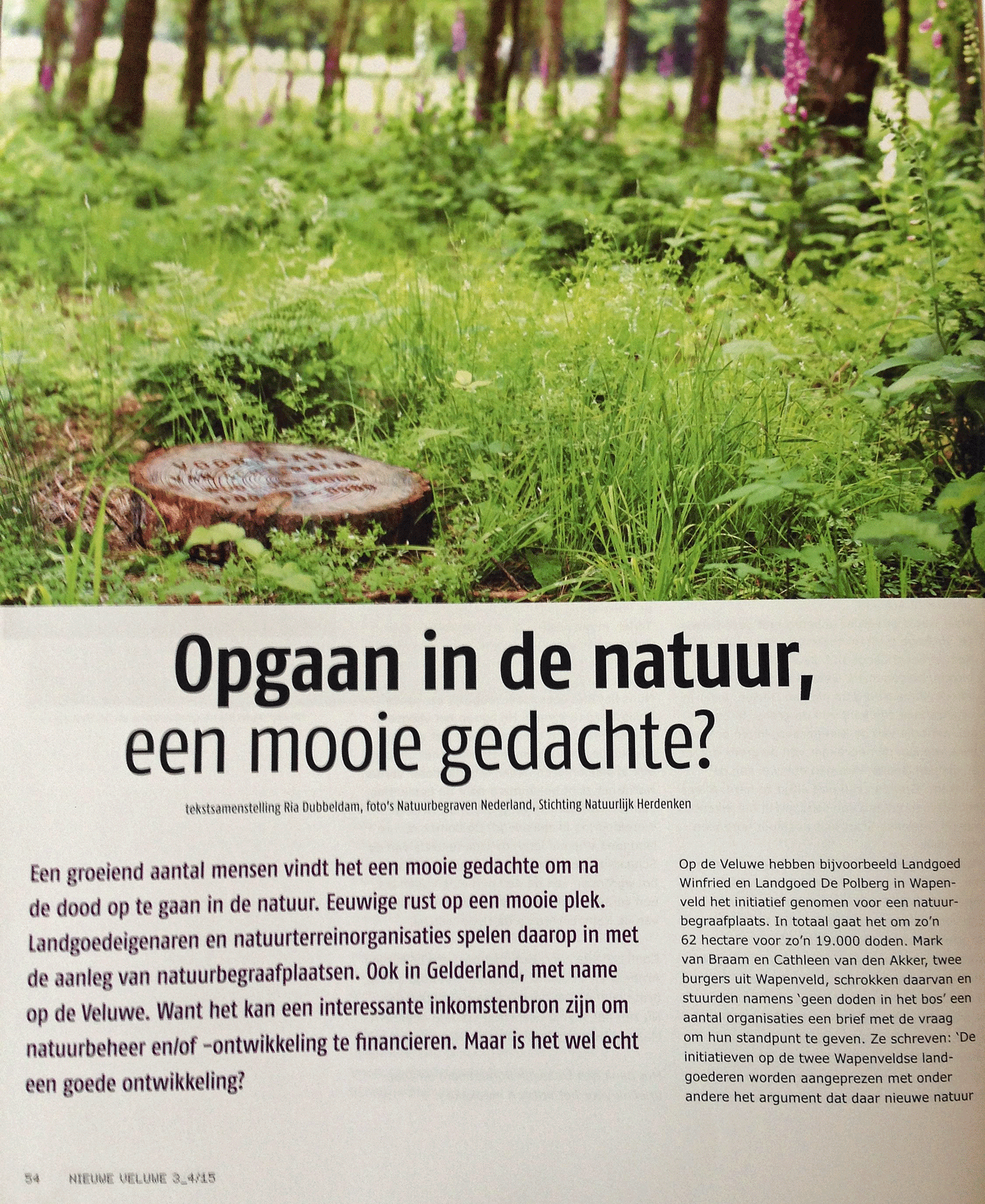 opgaan in de natuur pagina 54